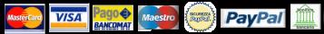 sistema di pagamenti sicuri via paypal secure system